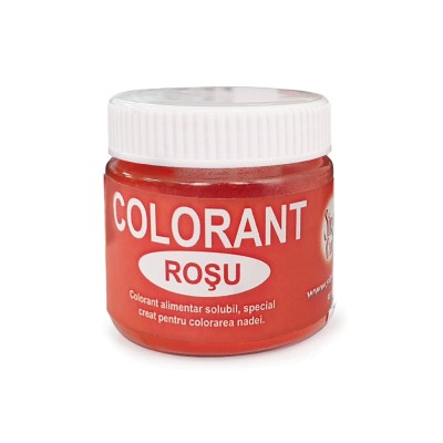 Colorant praf roșu 25g