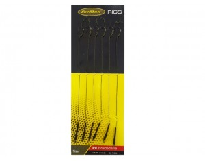 Cârlige legate Formax Hair Rigs 18cm Nr: 8