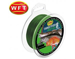 Fir WFT Targetfish Deep Sea Green 350m 20kg 0,22mm