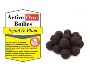 Boilies Active One Squid & Plum 1kg