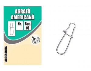 Agrafă Americană Nr.1