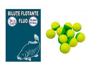 Biluţe flotante Fluo SipCarp 10mm
