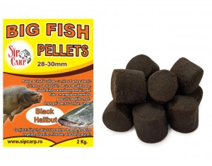 Pelete BigFish Black Halibut 28mm 2kg