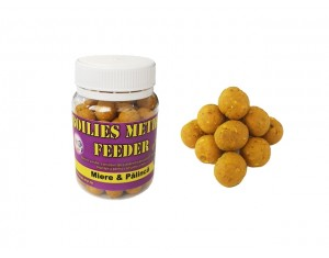 Boilies SipCarp Method Feeder Miere și Pălincă 10mm
