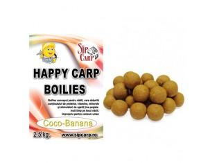 Boilies Happy Carp SipCarp Coco-Banana