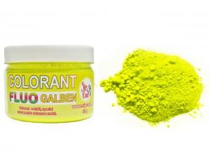 Colorant praf fluo galben 50g