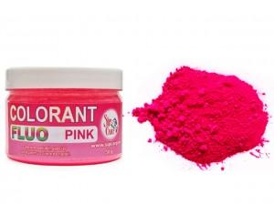Colorant praf fluo pink 50g