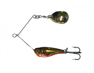 Micro Spinnerbait Crap 5g