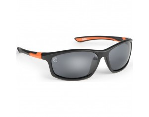 Ochelari de soare Fox Avius Wraps Black & Orange Frame / Grey Lens