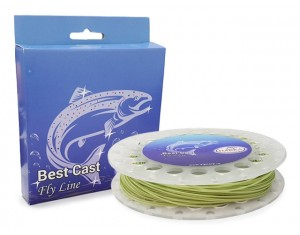 Fir Best Cast Fly Line Hakka WF4F Green 30.5m
