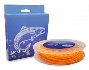 Fir Best Cast Fly Line Hakka WF6F Orange 30.5m