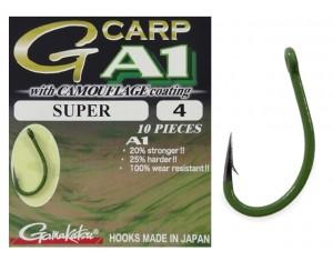 Cârlige Gamakatsu G-Carp A1 Super Camou Verde