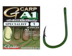Cârlige Gamakatsu G-Carp A1 Specialist Camou Verde