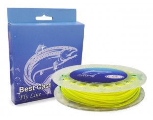 Fir Best Cast Fly Line Hakka WF4F Yellow 30.5m