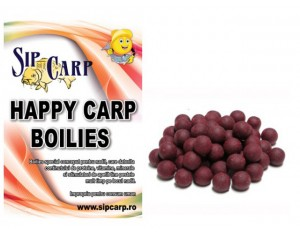 Boilies Happy Carp SipCarp Squid-Octopus&Plum