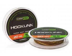 Fir Carp Pro Hooklink Camo 20m 15lbs