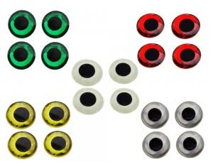 Ochi de pește A.Jensen 3-D Epoxy Eyes 6mm