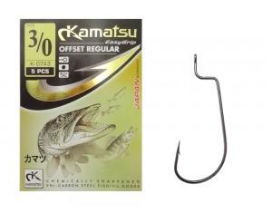 Cârlige Kamatsu Offset Regular K-0743BLN