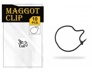 Agrafă SipCarp Maggot Clip 10mm