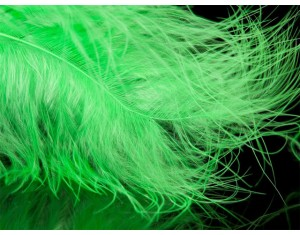 Pană Marabou A.Jensen Fluo Green