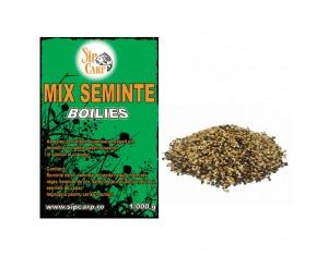 Mix seminte Boilies SipCarp 1kg