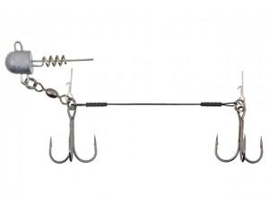 Montură Konger Swimbait System Double Stringer Nr: 2/0 15g 12cm