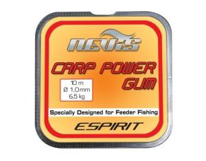 Elastic Feeder Carp Power Gum Nevis 1.0mm 10m
