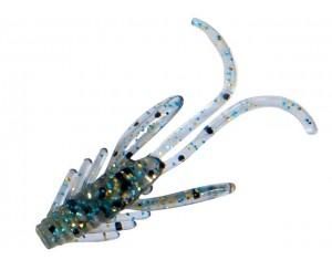 Nălucă Nomura Dancer Creature Light Blue Silver Glitter 2.5cm 0.8g