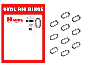 Inel oval Hakka Rig Rings