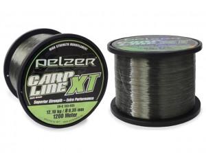 Fir Pelzer Carp Line XT Dark Green 0.40mm 1200m