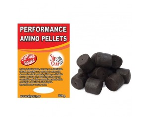 Pelete Performance Amino Black Halibut 500g 28-30mm