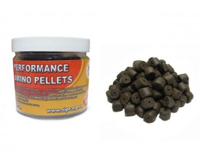 Pelete Performance Amino Black Halibut dipuit 100g