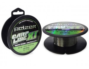 Fir Pelzer Carp Line XT Dark Green 0.26mm 600m