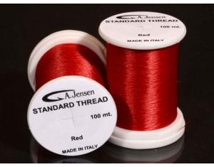 Ață Standard Thread A.Jensen roșie 8/0