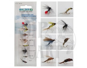 Set muște / ude și nimfe Balzer