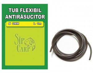 Tub antirasucitor SipCarp verde 2mm 100cm