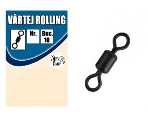 Vârtej rolling Matt Black Nr.4
