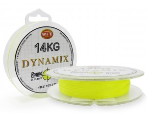 Fir WFT Round Dynamix Galben 0.10mm 150m