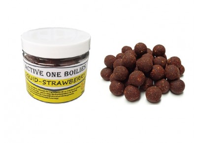 Boilies Active One Squid-Strawberry 100g