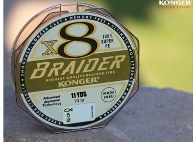 Fir Konger Braider X8 0.20mm 10m