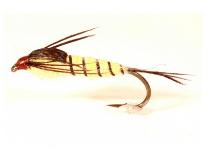 Musca Walkers Mayfly Streamer A.Jensen #10