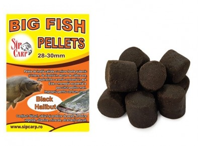 Pelete BigFish Black Halibut 28-30mm 800g