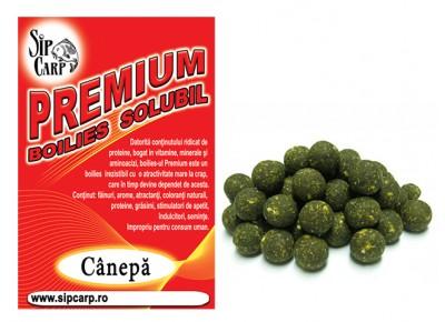 Boilies SipCarp Premium Solubil Cânepă