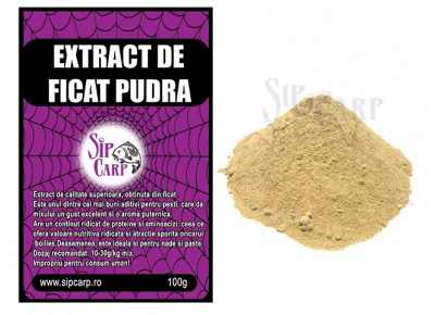 Extract de ficat pudra SipCarp 100g