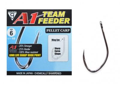 Cârlige Gamakatsu A1 Team Feeder Pellet Carp