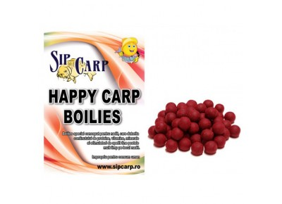 Boilies Happy Carp SipCarp Squid-Octopus&Strawberry