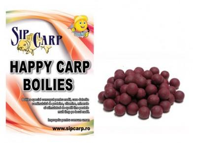Boilies Happy Carp SipCarp Squid-Octopus&Plum