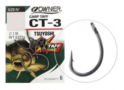 Cârlige Owner CT-3 Carp Tsuyoshi