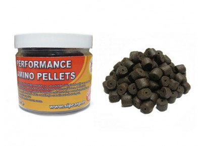 Pelete Performance Amino Black Halibut 100g