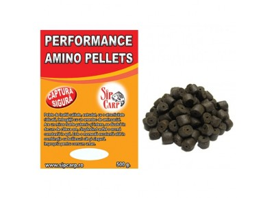 Pelete Performance Amino Black Halibut 500g